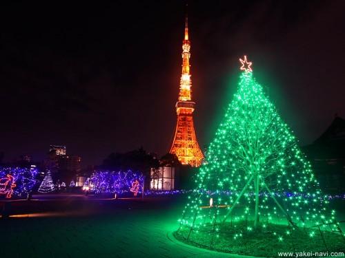tokyo 03 500x375 東京都内イルミネーションスポット人気ランキング2014年冬!