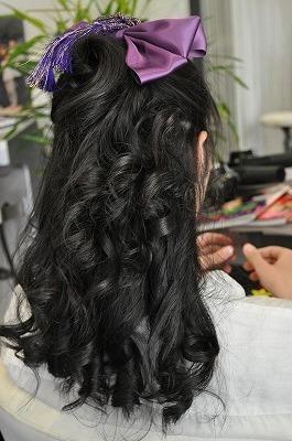 image0061 袴に似合う卒業式の髪型セミロング編|黒髪で清楚に決めるには?