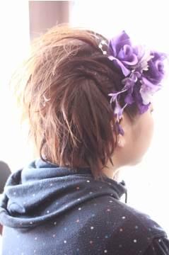 image009 袴に似合う卒業式の髪型ショートヘア編|シンプルにアレンジ!