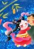 【七夕飾り短冊】夢が叶う願い事の書き方|保育所、幼稚園の例文