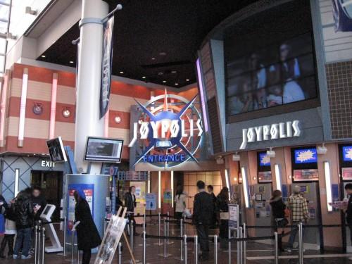Joypolis 500x375 1泊2日で行ける女子旅で人気の東京発国内旅行先人気ランキング!
