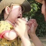 ママが乳幼児を叱る時気をつける事と手を上げてしまった時のフォローの仕方