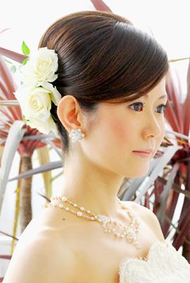 結婚式 ヘア 花嫁