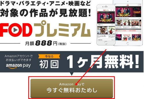 fod touroku 500x344 - いつ恋(いつかこの恋を思い出してきっと泣いてしまう)のフル動画を無料視聴する方法!